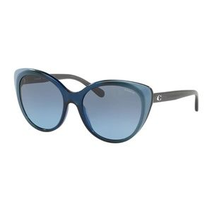 New Coach Sunglasses Cat Eye - blue gradient